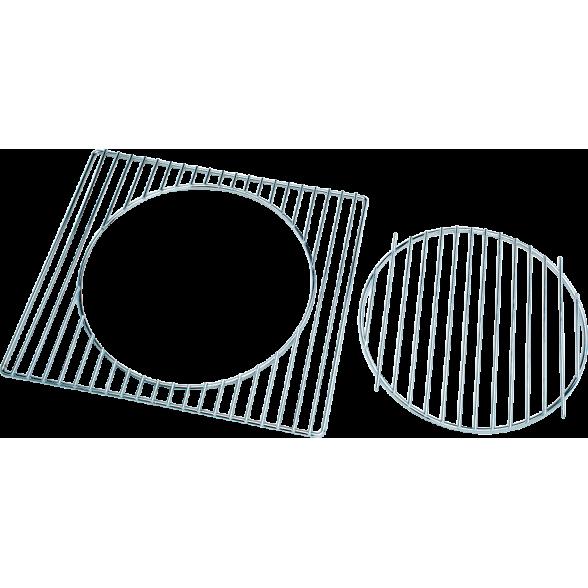 Forester 2 в 1: решетка-гриль и подставка для казана, BQ-N20