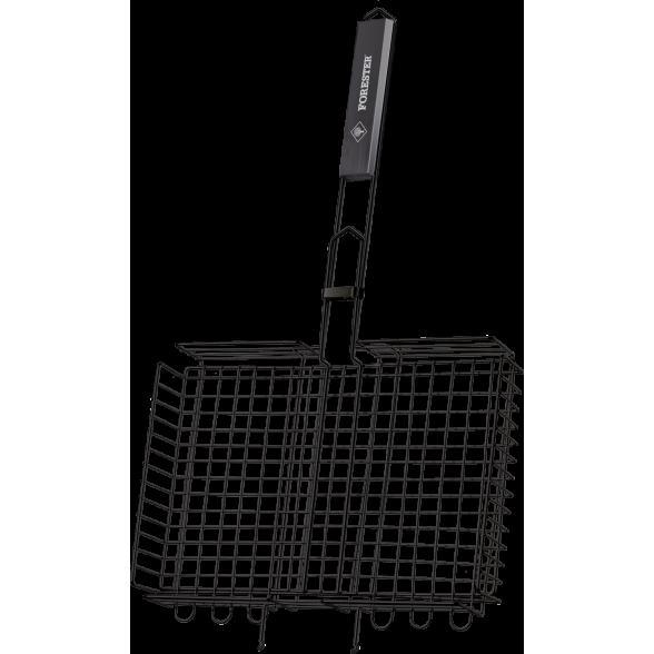 Решетка-гриль объемная большая с антипригарным покрытием Forester BQ-NS03