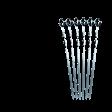 Набор шампуров малых Forester в пакете с zip-lock RZ-450SB, 6 шт