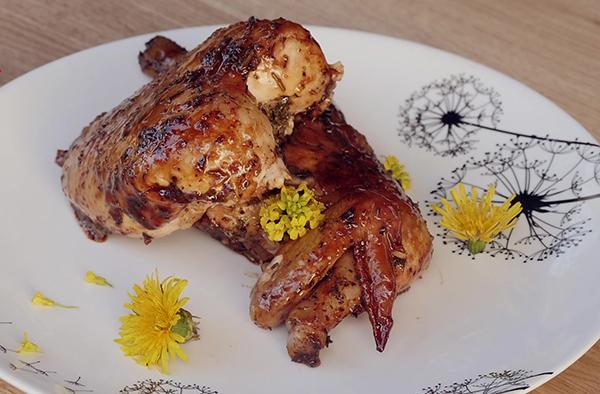 Рецепт цыпленока корнишон, тушеный в пиве