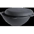 Казан чугунный с крышкой-сковородой Forester CI-01