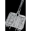 Forester Mobile BQ-S03М. Пикник под ключ! Решетка-гриль объемная со съемной ручкой, 24х31 см
