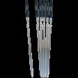 Набор шампуров с деревянными ручками 55 см Forester, 6 шт, RZ-60WB