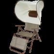 Шезлонг с зонированием личного пространства Forester GS-1013