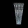 Шампуры большие, россыпь Forester RZ-600S, 55 см