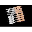 Набор столовых приборов (вилка+нож) для гриля Forester C827, на 4 персоны