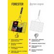 Решетка-гриль большая с антипригарным покрытием 26х45 см Forester, BQ-NS02
