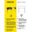 Термо-мангал со столом-крышкой Forester BQ-702, 65х36