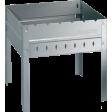 Мангал разборный со складным дном и ребрами жесткости, 40 х 30 см, Forester Mobile, BC-782M
