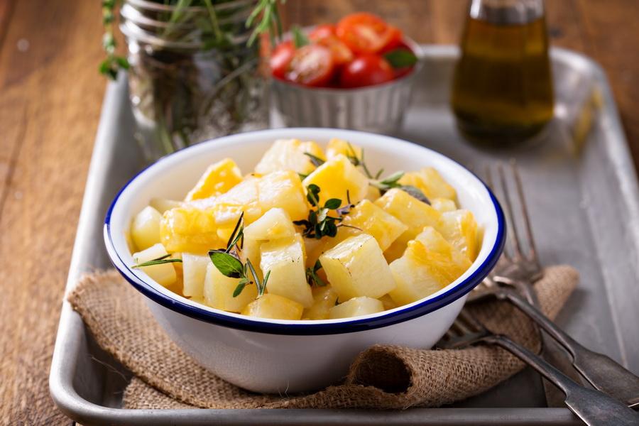 Рецепт «Картошка, запеченная в фольге»