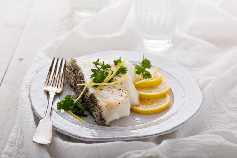 Рецепт «Сибас с лимоном и травами