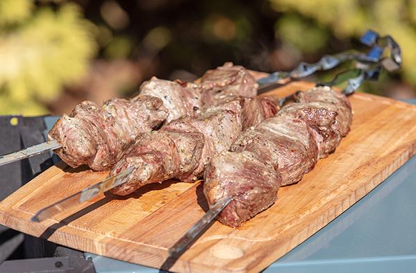 Рецепт нежного шашлыка из говядины