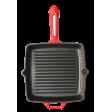 Сковорода-гриль чугунная Forester Red Line, CI-04R