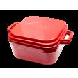 Террин чугунный с крышкой-сковородой 4,5 л Forester Red Line, CI-07R