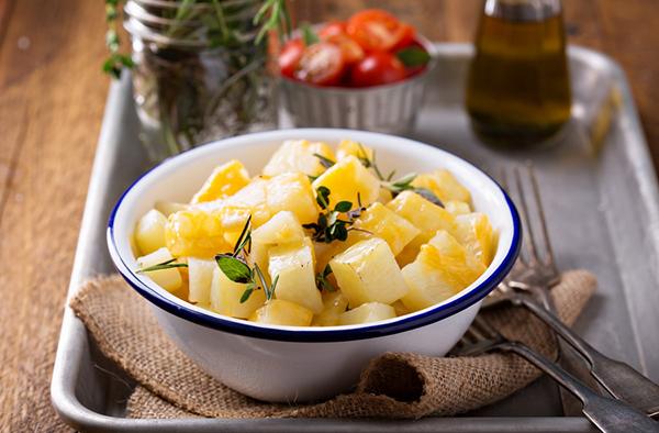 Картошка, запеченная в фольге