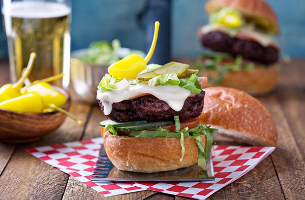 Классический бургер из говядины
